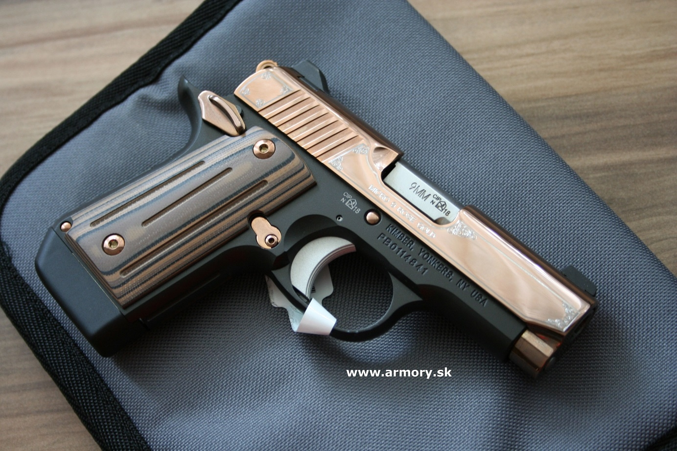 Kimber Micro 9 Rose Gold - Guns - lvlarmory com