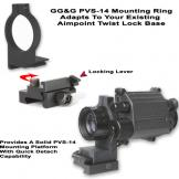 Aimpoint Twist Lock PVS-14 Adapter