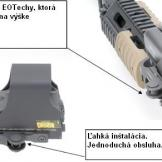 EOTech Accucam Quick Detach Locking Lever System